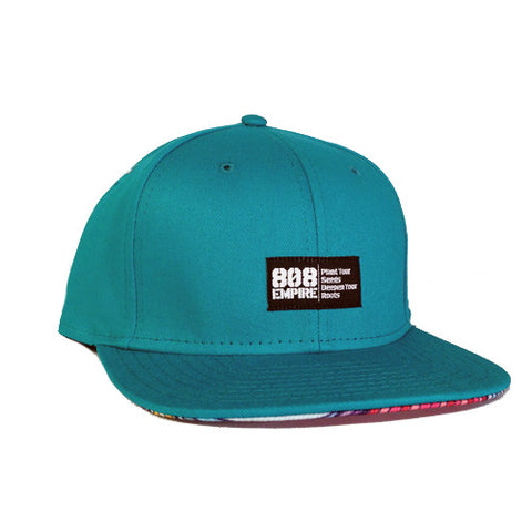 """Swavy"" TEAL Woven Snapback By 808 Empire"