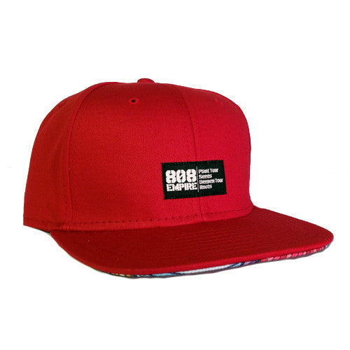 """Swavy"" RED Woven Snapback By 808 Empire"