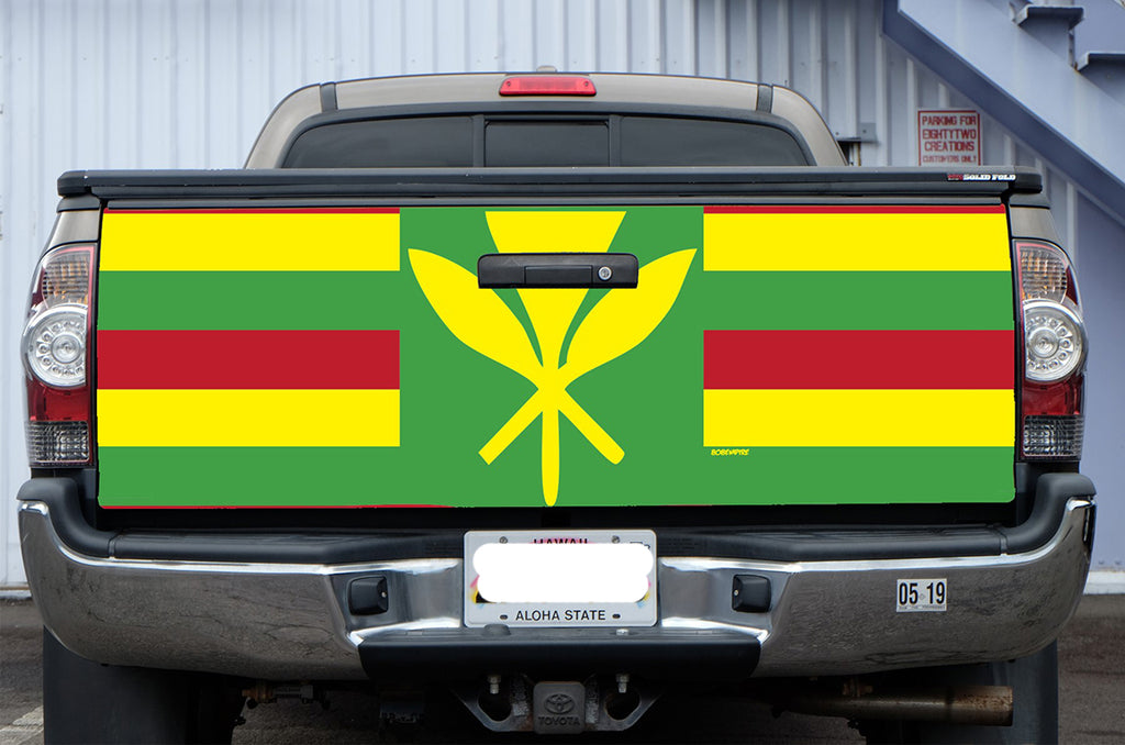 Maoli Flag Tail Gate Wrap (Tacoma 05-19)