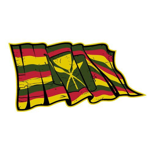 "Torn Maoli Flag 6"" Sticker"