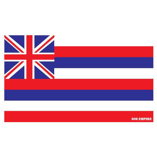 "Hawaii Flag 10"" Sticker"