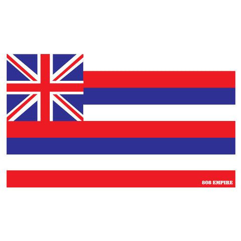 "Hawaii Flag 4"" Sticker"