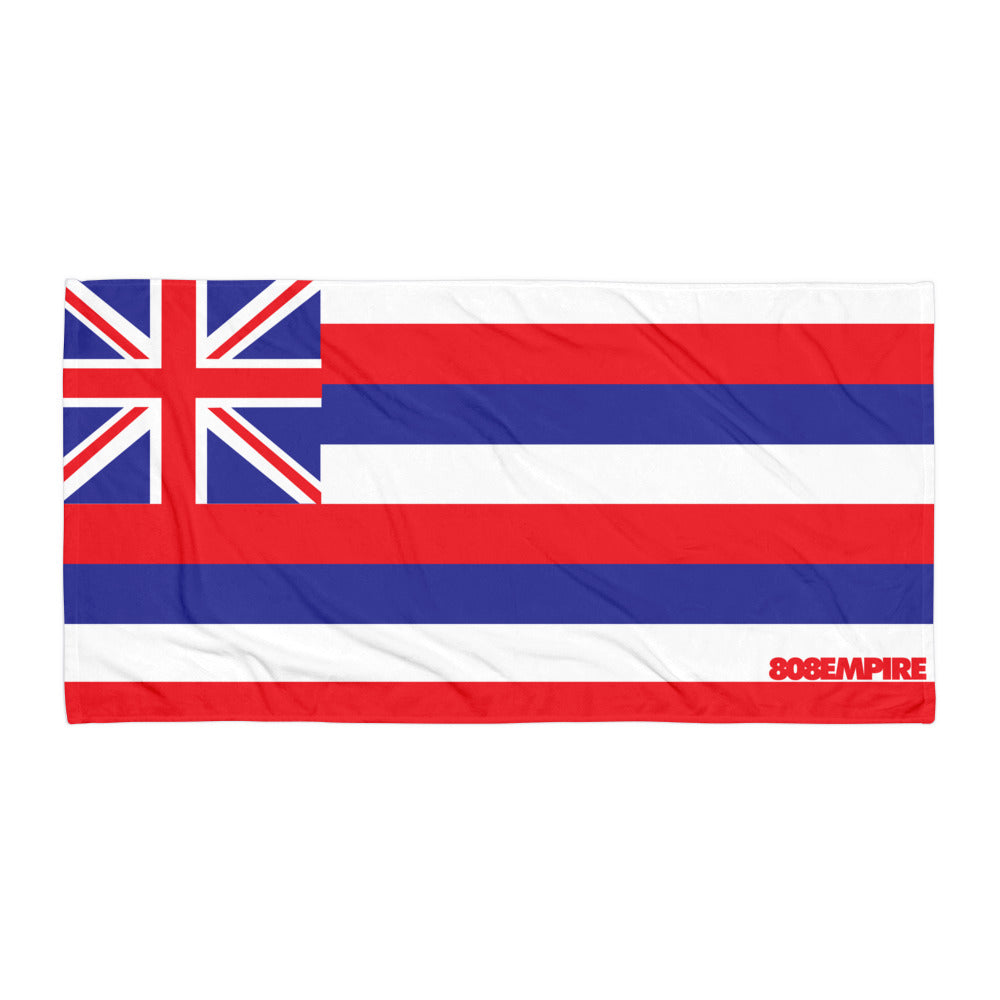 """Hawaii Flag"" Towel by 808 Empire"
