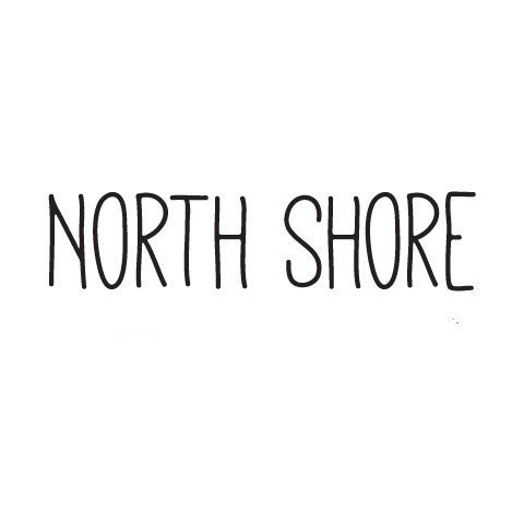 North Shore Skinny Diecut Sticker