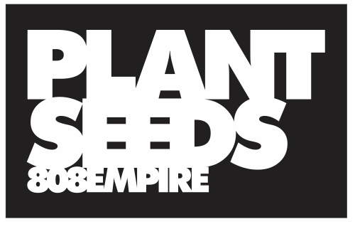 Plant Seeds Sticker by 808 Empire
