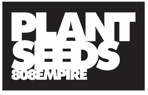Plant Seeds Sticker by 808 Empire 11-7-19