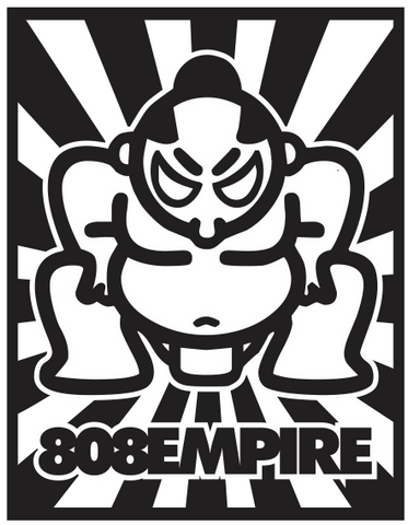 Sumo Sticker by 808 Empire