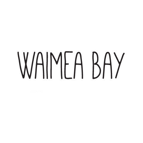 Waimea Bay Skinny Diecut Sticker