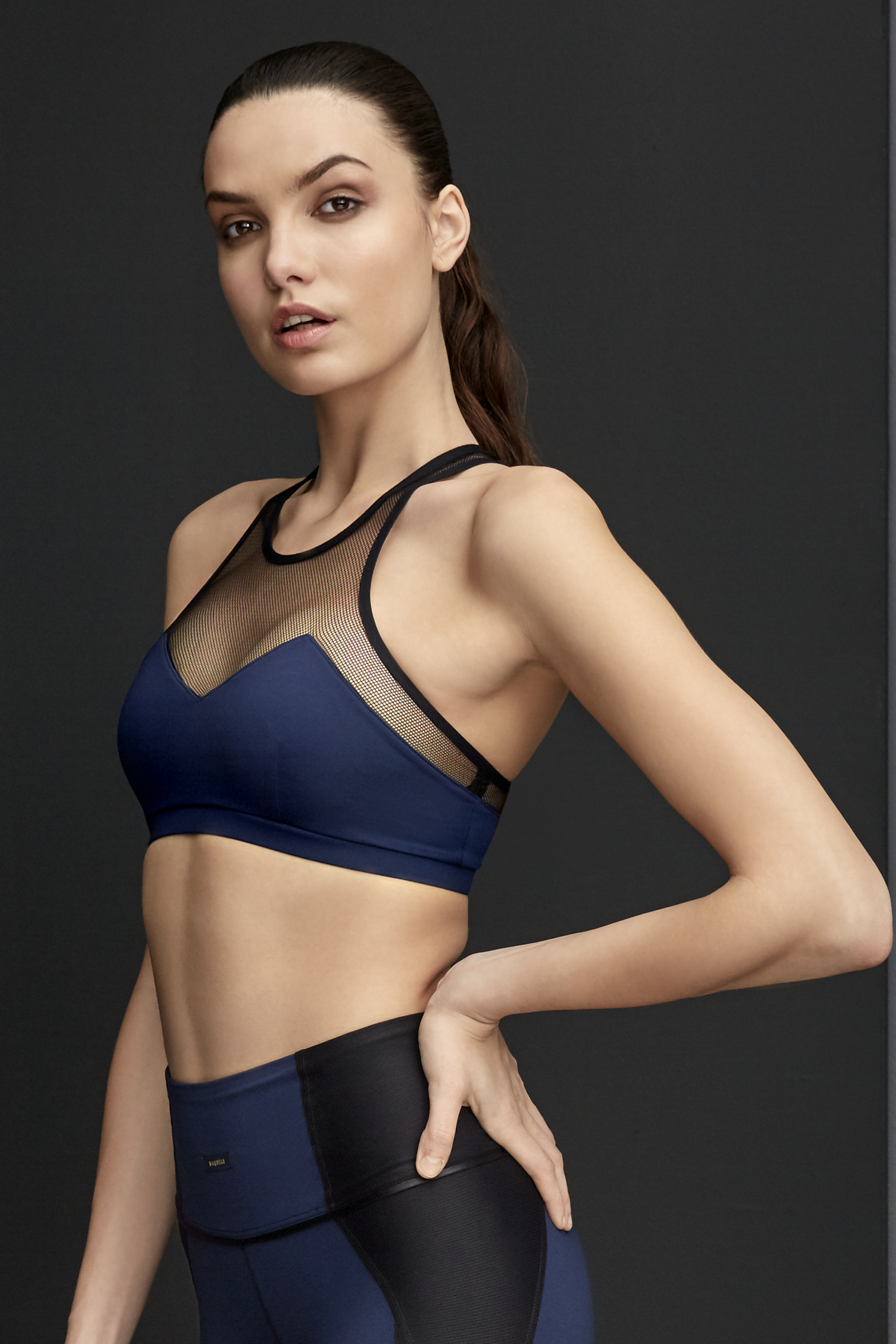 c66e2d2f66d46 Muse Sports Bra - Lapis Blue