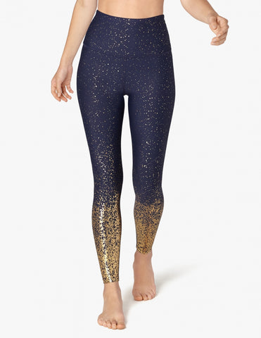 3254129dc9 Alloy Ombre High Waisted Leggings - Navy Gold