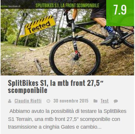 SplitBikes S1 Terrain Review by mountainike.bicilive.it