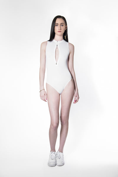 SS3 - WATERPROOF - WORK BODYSUIT - WHITE
