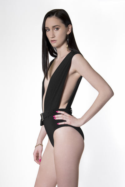 SS2 - COCKTAIL BODYSUIT - BLACK