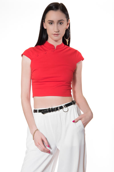 .05 MIUMIU TANG TOP - RED