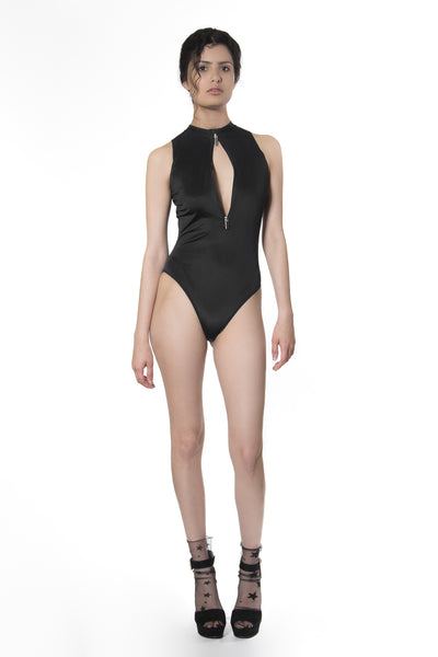 SS3 - WORK BODYSUIT - BLACK