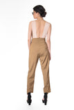 .05 MONICA ITALIA SUIT - CAMEL - PANTS