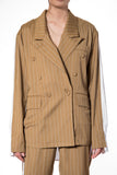 .05 MONICA ITALIA SUIT - CAMEL - JACKET