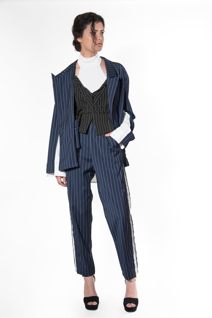 .05 MONICA ITALIA SUIT - NAVY - PANTS