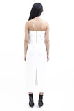 .01 Les Essentiels Tube Dress - White