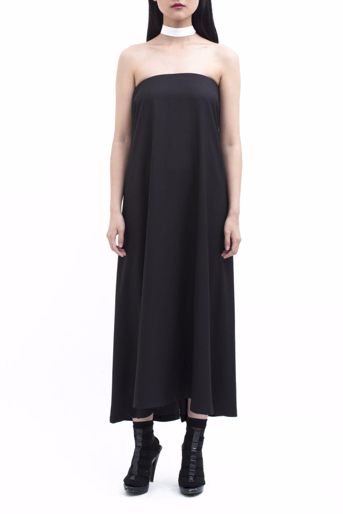 .01 Les Essentiels Tube Dress - Black