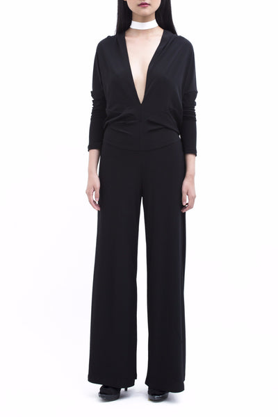 .01 Les Essentiels Multifunction Jumpsuit - Black