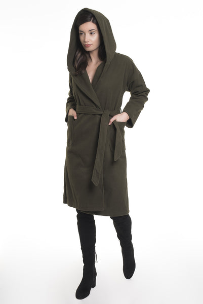 .04 GIGI XL HOOD LONG COAT