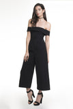 .04 OLIVIA JUMPSUIT - OFF THE SHOULDER