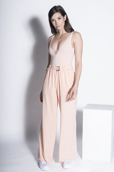 .02 Nouvelle Perspective Palazzo Pants - Peach