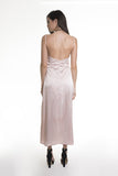 .04 T SILK SLIP DRESS - PINK