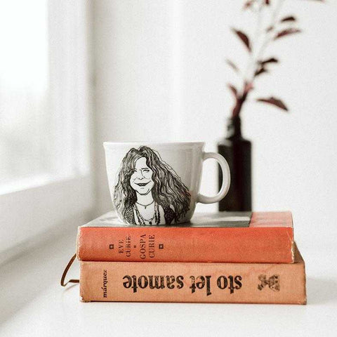 JANIS, the free one,   35cl mug - polonapolona