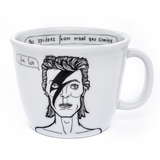 DAVID, the one from the outer space - 35cl mug - polonapolona