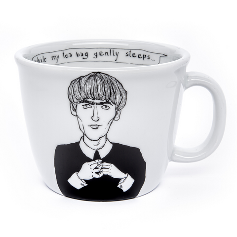 GEORGE, the handsome one, 35cl mug - polonapolona