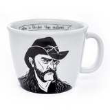 LEMMY, the hoarse-voiced one,    35cl mug - polonapolona