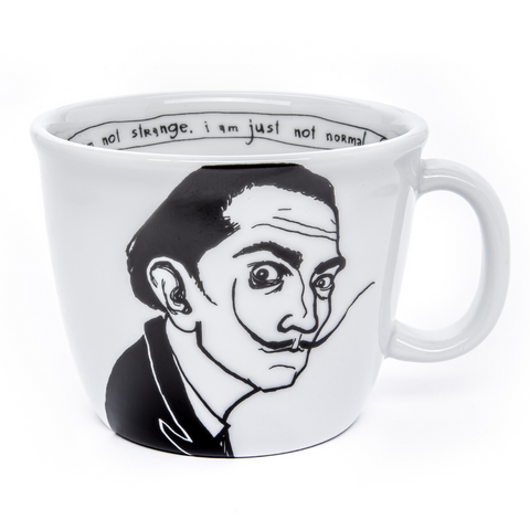 SALVADOR,  the surrealistic one, 35cl mug - polonapolona
