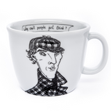 SHERLOCK, the clever one,   35cl mug - polonapolona