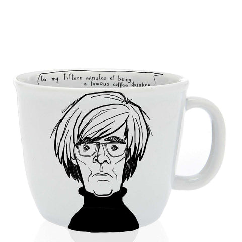 ANDY, the pop-artistic one, 35cl mug - polonapolona