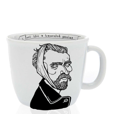 VINCENT, the ear-less one, 35cl mug - polonapolona