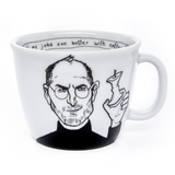 STEVE -the apple man - 35cl mug - polonapolona