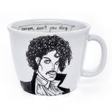 THE PURPLE ONE, the one who changed his name,   35cl mug - polonapolona