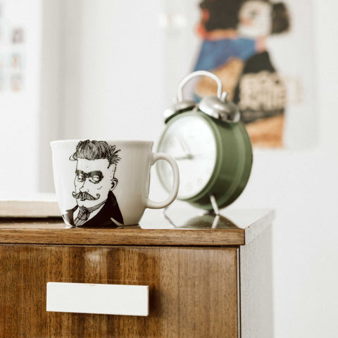 IVAN, the original hipster,   35cl mug - polonapolona