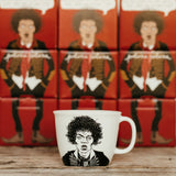 JIMI, the guitar hero,    35cl mug