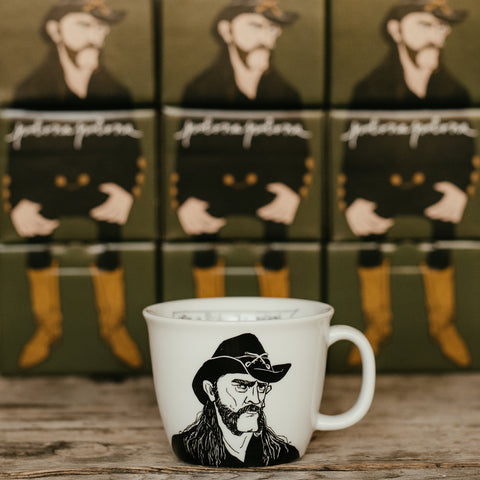 LEMMY, the hoarse-voiced one,    35cl mug