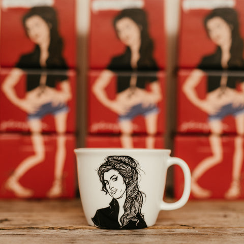 AMY, the muse,   35cl mug