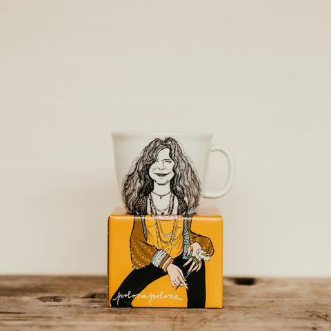 JANIS, the free one,   35cl mug