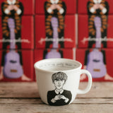 4 pack JPRG: JOHN, PAUL, RINGO, GEORGE  THE BUGS -Set of 4 x 35cl mugs