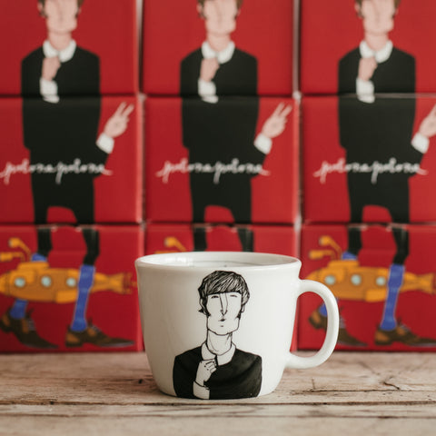 JOHN L., the imaginative one, 35cl mug