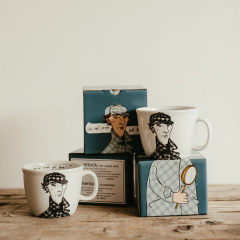 SHERLOCK, the clever one,   35cl mug