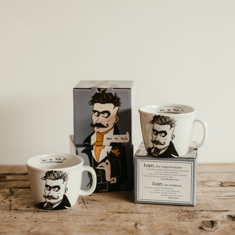 IVAN, the original hipster,   35cl mug