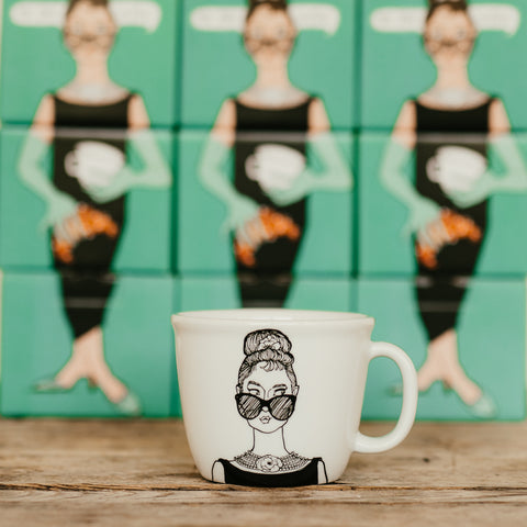AUDREY, the fair one, 35cl mug