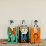 ROCK LEGENDS PART TWO - set of 3 x 35cl mugs